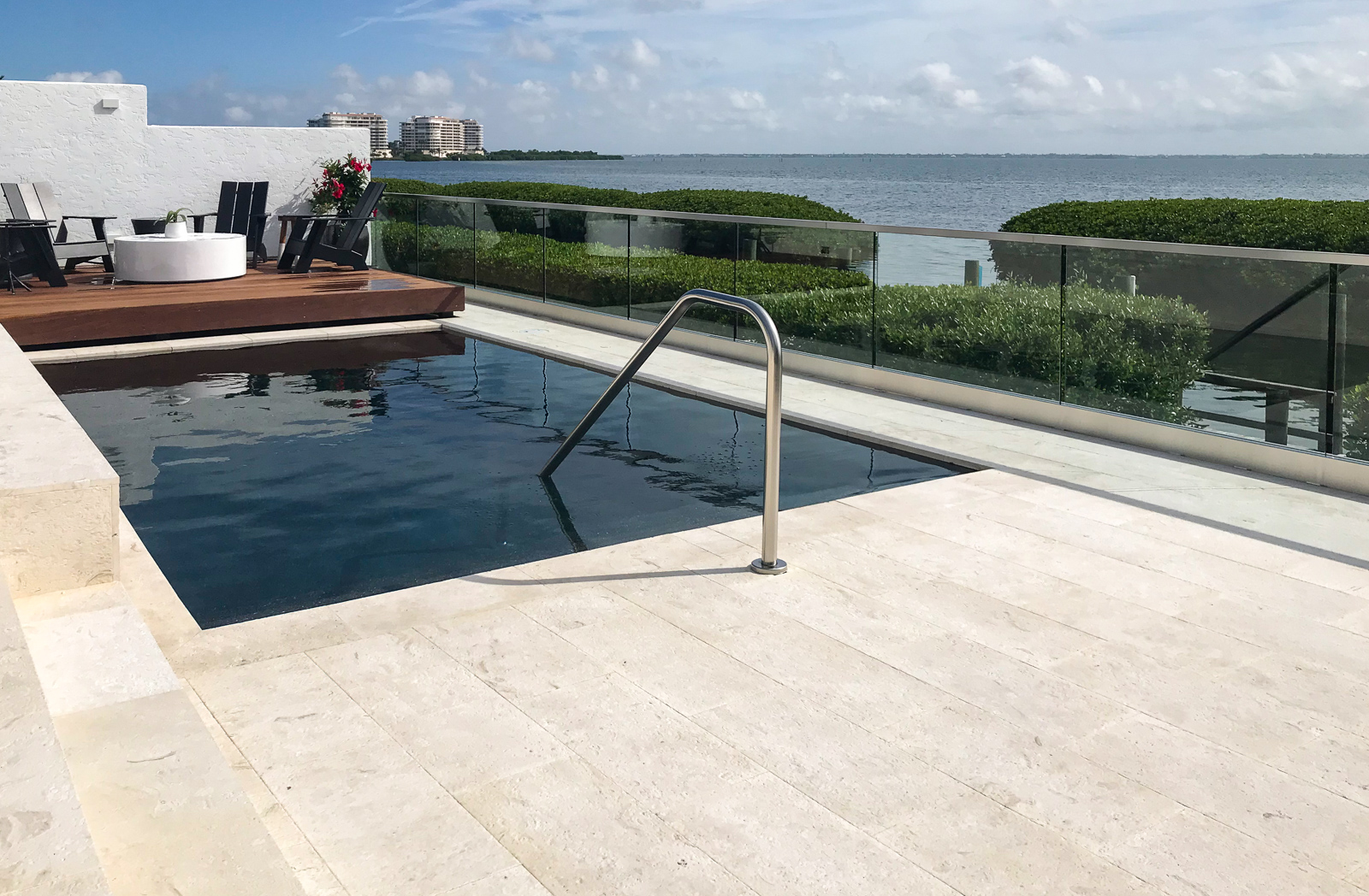 Modern swimming pools sarasota longboat key pool remodel