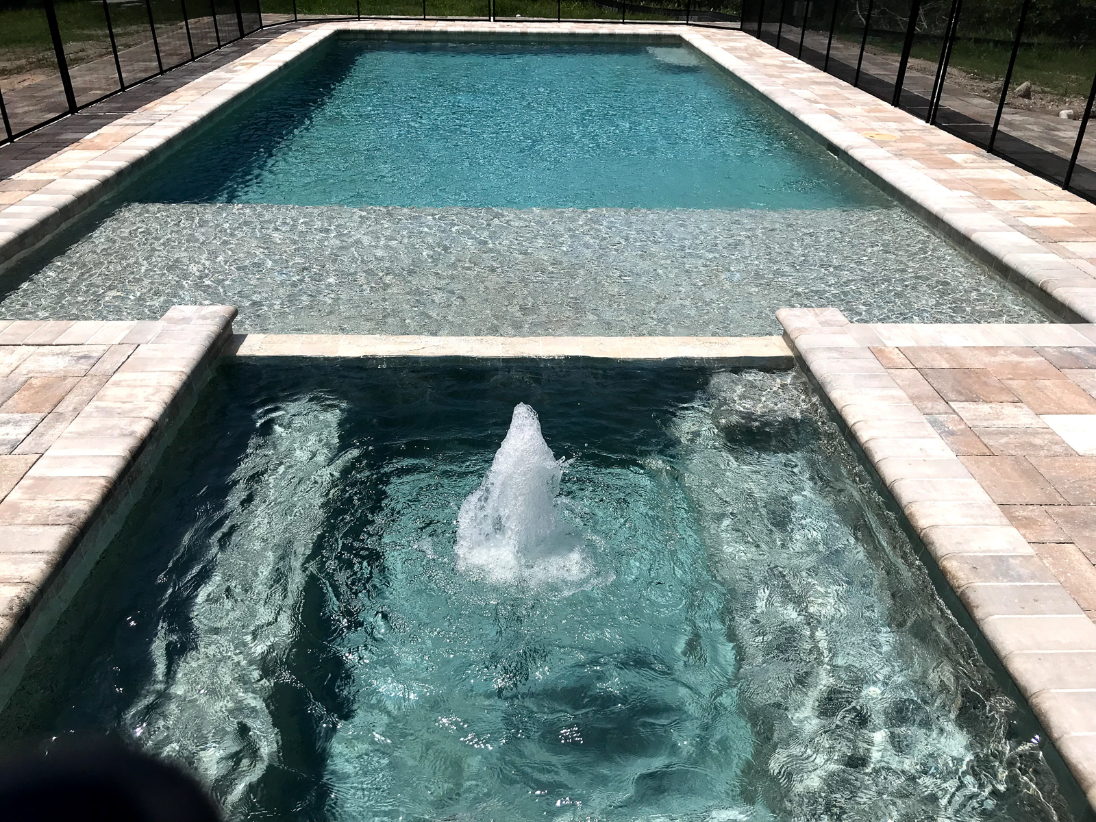 New Pool Siesta Key modern swimming pools