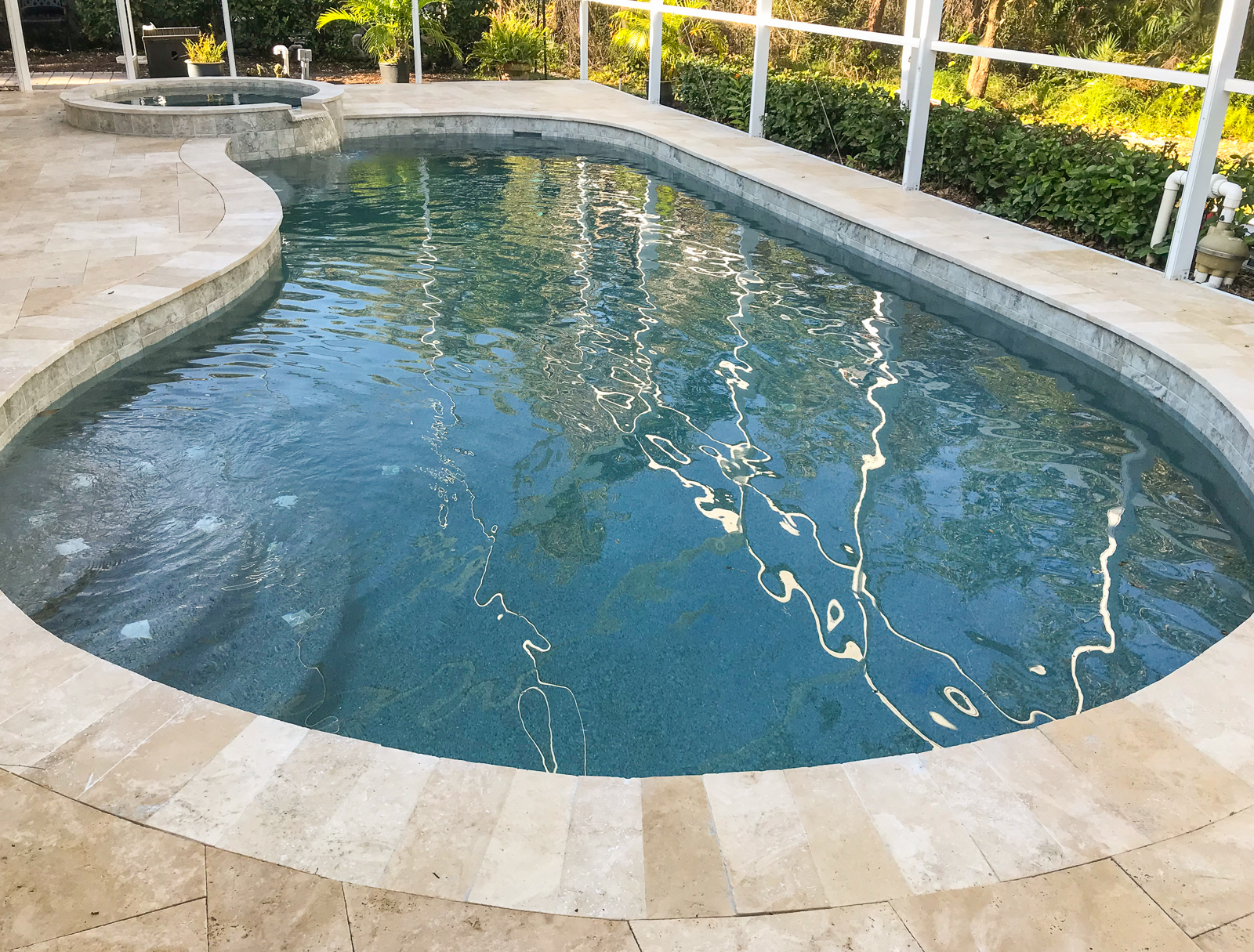 Pool and Spa remodel in Lakewood Ranch