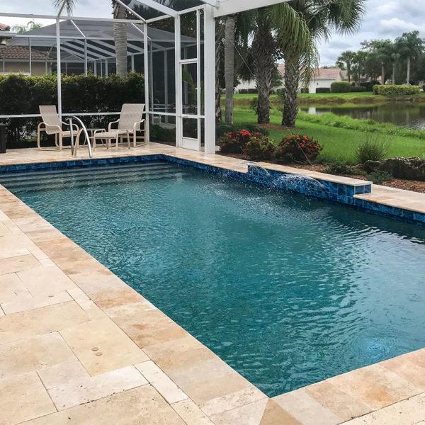 Village Walk Sarasota pool remodel